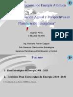 Estado de Situación y Perspectivas en Planificación Energética - Ing Norberto Coppari