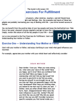 Deg 18 Four Exercises for Fulfillment
