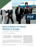 Hybrid in Balkans