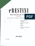 OBOÉ - MÉTODO - PRESTINI - Seleção de Estudos (Oboe Method)