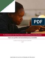 Programa de Política Para El Desarrollo de Finlandia