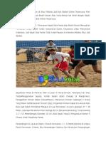 Games Beach Soccer Di Situs Website Judi Bola Sbobet
