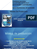 Modos de Produccion Exp
