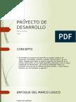 Proyecto de Desarrollo