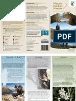Wanaka Outdoor Pursuits Brochure