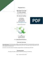 Warrenton Vol. Fire Co. solar panel estimate