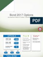 Comal ISD 2017 Bond Options