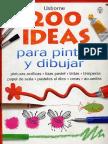 2OO ide4s para pintar y dibuj4r.pdf