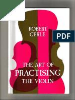 Robert Gerle - The Art Of Practising The Violin.pdf
