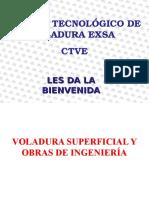 Voladura Superficial - Exsa