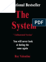 The System (Unillustrated Version) - Valentine, Roy