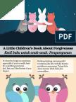 Kecil Buku Untuk Anak-Anak Pengampunan - A Little Children's Book About Forgiveness