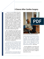 Life's Second Chance After Cardiac Surgery