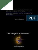 PC - Zeitgeist Movement Basic Presentation 2009
