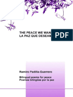 eBook as PDF the Peace We Want La Paz Que Deseamos.