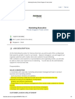 Marketing Executive - Hear