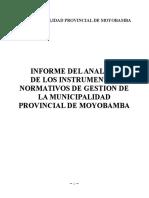 Analisis Normativos Moyobamba 09.11.12