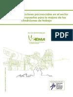 Estudio de Los Factores Psicosociales en El Sector Cementero. Propuestas Para La Mejora de Las Condiciones de Trabajo