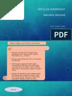 Malaria Unggas Presentassi