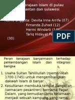 Peran Kerajaan Islam Di Pulau Kalimantan Dan Sulawesi