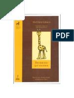 DECIDIENDO QUÈ HACEMOS (Manual para acompañar a Nous) (Mattew Lipman) (2004)