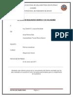 Informe de Maquinaria 2
