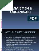 1a. Fungsi ORGANISASI Dan Manajemen