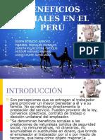 Beneficios Sociales en El Perú_juan carlos mendoza alberto