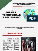 (5) Formas Territoriales de Estado