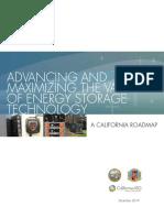 Advancing MaximizingValueofEnergyStorageTechnology CaliforniaRoadmap