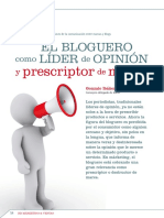 El Bloguero como lider de opinion
