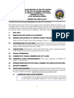 Lansing (MI) City Council meeting info packet for June 28 meeting