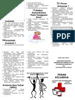 Leaflet Perawatan Kekambuhan Jiwa