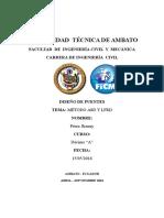 METODO ASD Y LFRD