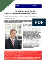 Christian Wulff Jurist Politiker Praesident