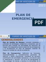 03 Leccion 1 - Plan de Emergencia