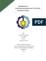 Analisa Undang Undang Pemerintah Indonesia Dan UNCLOS 1982 Perihal Batas Wilayah