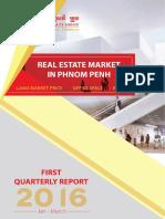 Cambodia Real Estate Analysis 1st Q 2016