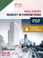 Cambodia Real Estate Analysis 2nd Q 2016