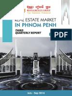 Cambodia Real Estate Analysis 3rd Q 2016