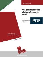 Arte Para La Inclusion y La Transformacion Social