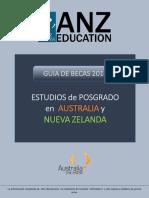Guia de Becas ANZ Education 2016