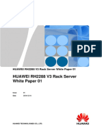 Huawei FusionServer RH2288 V3 Server Technical White Paper