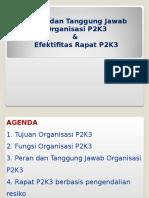 Organisasi Dan Rapat P2K3