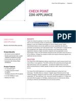 2200 Appliance Datasheet