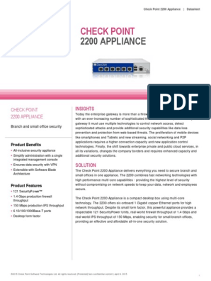 2200 Appliance Datasheet | Online Safety & Privacy