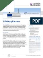 1100 Appliance Datasheet