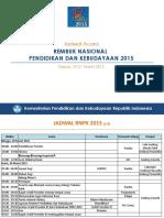 RNPK 2015 - Jadwal Acara