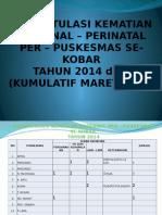 REKAPITULASI KEMATIAN MATERNAL – PERINATAL PER – PUSKESMAS.pptx