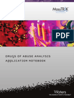 _DOC_Drugs of Abuse Analysis WATERS LAB